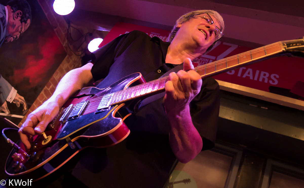 Steve Rowe Blues Party at Upstairs Jazz