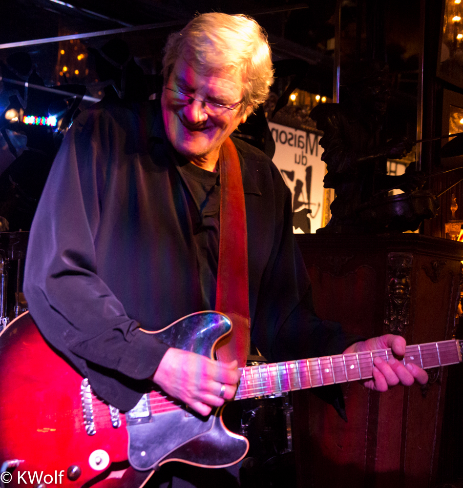 Steve Rowe - The Urban Bluesman Quartet premieres at House of Jazz (Montreal)
